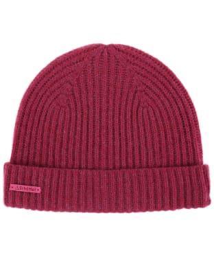 Women's Schöffel Cashmere Beanie Hat - Raspberry