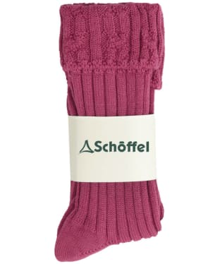 Women's Schöffel Short Boot Socks - Pink