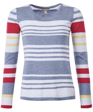 Women's Barbour Bowline Stripe Knit Sweater - Blue Degrade