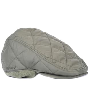 Men's Barbour Quilted Foldaway Cap - Olive