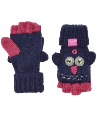 Girl's Joules Chum Character Mittens