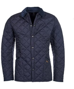 Men's Barbour Heritage Liddesdale Quilted Jacket - Navy