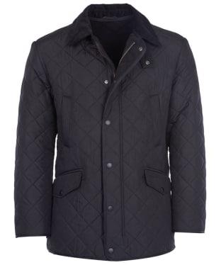 Men's Barbour Bardon Quilted Jacket - Black