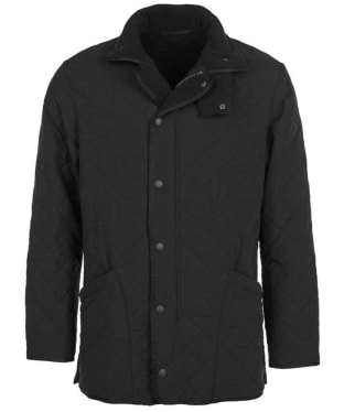 Men's Barbour Microfibre Polarquilt Jacket - Black