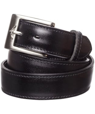 "Men's R.M. Williams 1 1/4"" Dress Belt - Black"