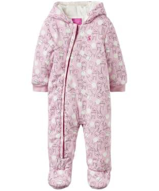Girl's Joules Baby Snug Pram Suit, 9-12m