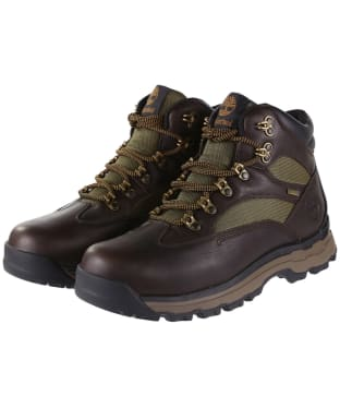 Men's Timberland Chocorua Trail 2 Gore-Tex® Hiker Boots - Dark Brown / Green