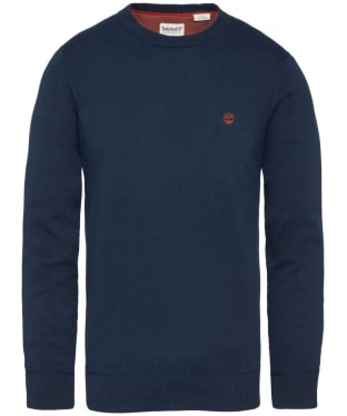 Men's Timberland Williams River Crew Neck Sweater - Dark Navy