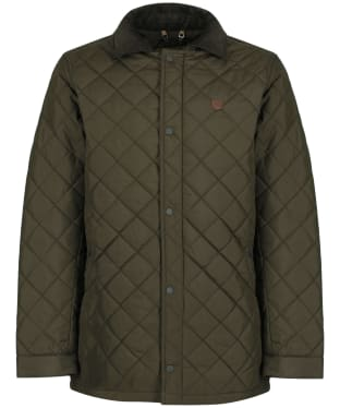 Men's Dubarry Clonard Quilted Jacket - Olive