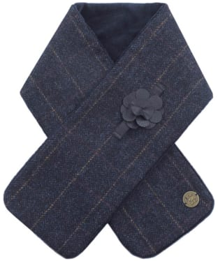 Women's Jack Murphy Galaxy Tweed Scarf - Golden Navy