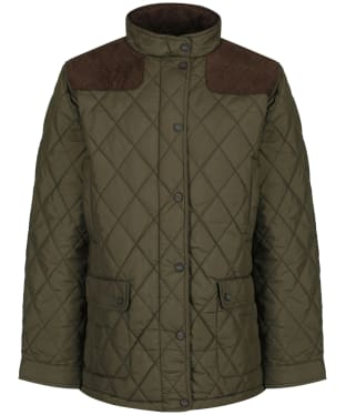 Men's Dubarry Castlemartyr Quilted Jacket - Olive