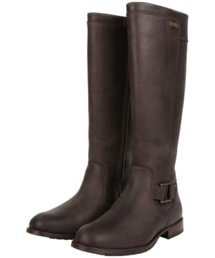 Women's Dubarry Limerick Knee High Boots - Old Rum