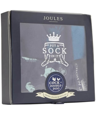 Men's Joules 'Put a sock in it!' Underwear and Socks Gift Set