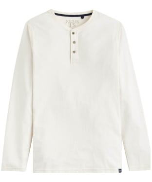 Men's Joules Long Sleeve Lounge Tee - Cream