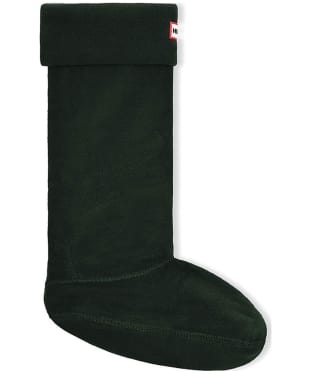 Hunter Fleece Welly Socks Adult - Dark Olive