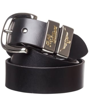 "Men's R.M. Williams 1 1/2"" Jerrawa Belt - Black"