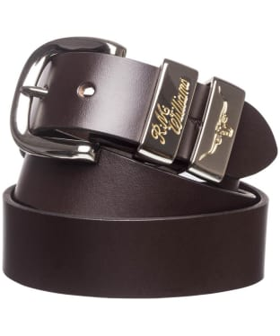 "Men's R.M. Williams 1 1/2"" Jerrawa Belt - Chestnut"