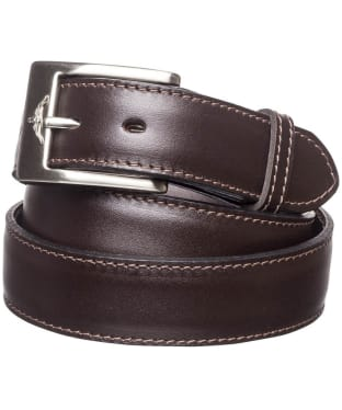 "Men's R.M. Williams 1 1/4"" Dress Belt - Chestnut"