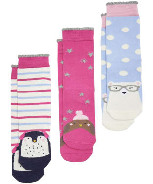Joules Treat Feet Christmas Socks - Xmas