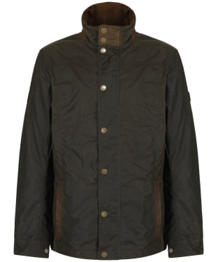 Men's Dubarry Carrickfergus Waxed Jacket - Olive