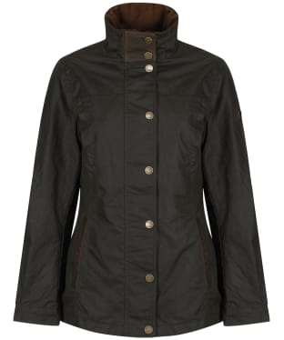 Women's Dubarry Mountrath Waxed Jacket - Olive