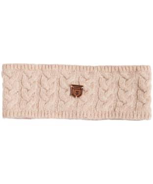 Women's Dubarry Farmleigh Knitted Headband - Oatmeal