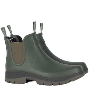 Men's Barbour Fury Chelsea Welly - Olive