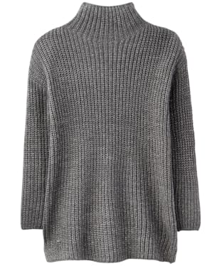 Women's Joules Prunella Funnel Neck Sweater - Grey