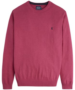 Men's Joules Retford Crew Neck Sweater - Raspberry Marl