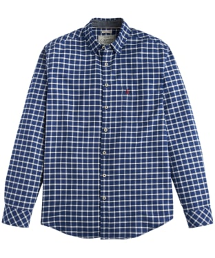 Men's Joules Welford Shirt - Indigo Check