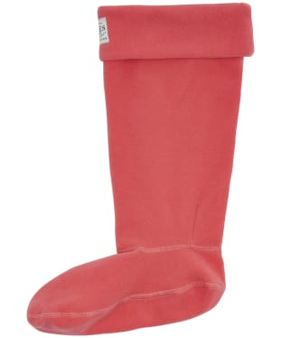 Women's Joules Welton Fleece Welly Socks - Red Sky