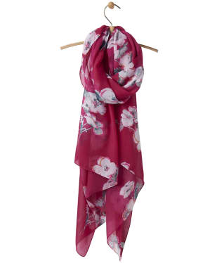 Women's Joules Wensley Scarf - Ruby Poppy