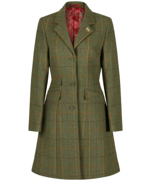 Women's Alan Paine Combrook Tweed Mid Length Coat