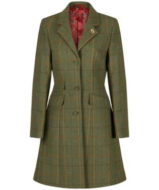 Women's Alan Paine Combrook Tweed Mid Length Coat