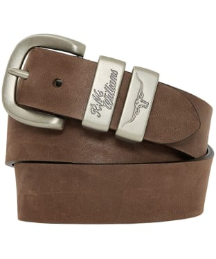 Men's R.M. Williams Drover Belt - Chocolate