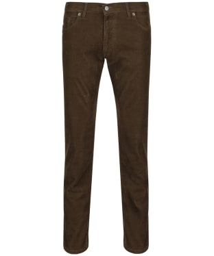 Men's Alan Paine Rami Five Pocket Corduroy Trousers - Taupe