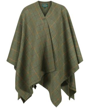 Women's Alan Paine Combrook Ladies Tweed Wrap - Landscape