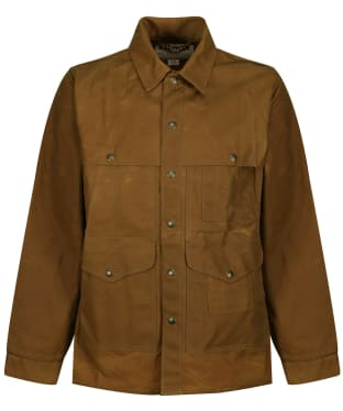Men's Filson Tin Cruiser Jacket - Dark Tan
