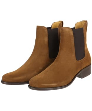 Women's Fairfax and Favor Suede Chelsea Boot - Tan Suede