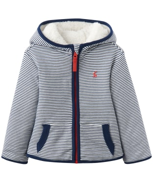 Boy's Joules Toddler James Reversible Fleece, 9-24m