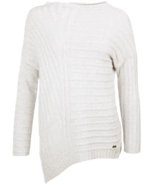 Women's Barbour Annfield Knit - Ice White