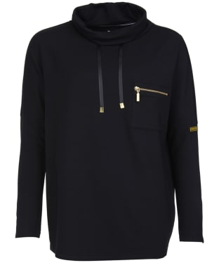 Women's Barbour International Byway Sweat - Black