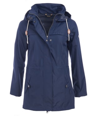 Women's Barbour Hanover Waterproof Jacket - Navy