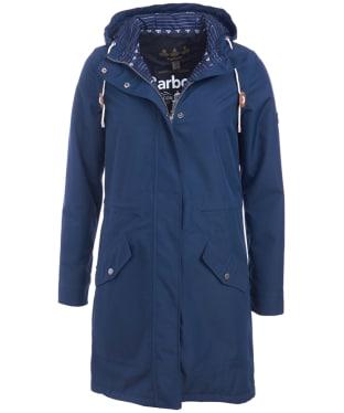 Women's Barbour Whitford Waterproof Jacket - Navy