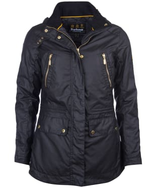 Women's Barbour International Ridge Wax Jacket