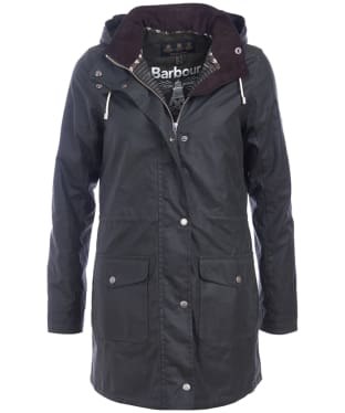 Women's Barbour Selsey Waxed Jacket - Sage
