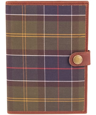 Barbour Tartan Notebook and Cover - Classic Tartan