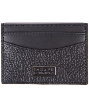 Men's Barbour International Card Holder - Black