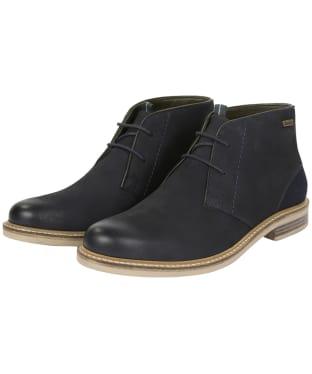 Men's Barbour Readhead Lightweight Chukka Boots - Navy