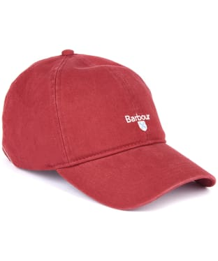 Men's Barbour Cascade Sports Cap - Lobster Red
